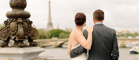 elopement Paris celebrant