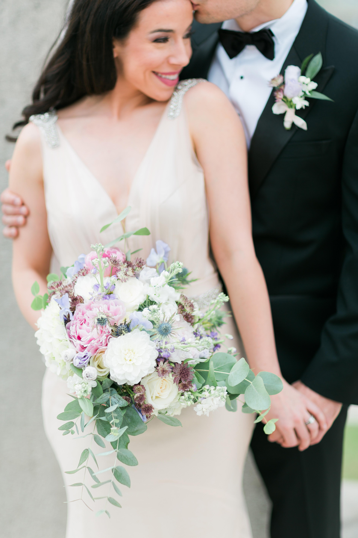 wedding paris bouquet