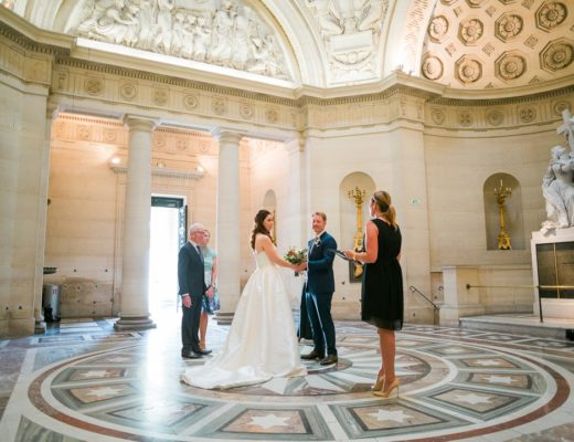 Paris elopement planner