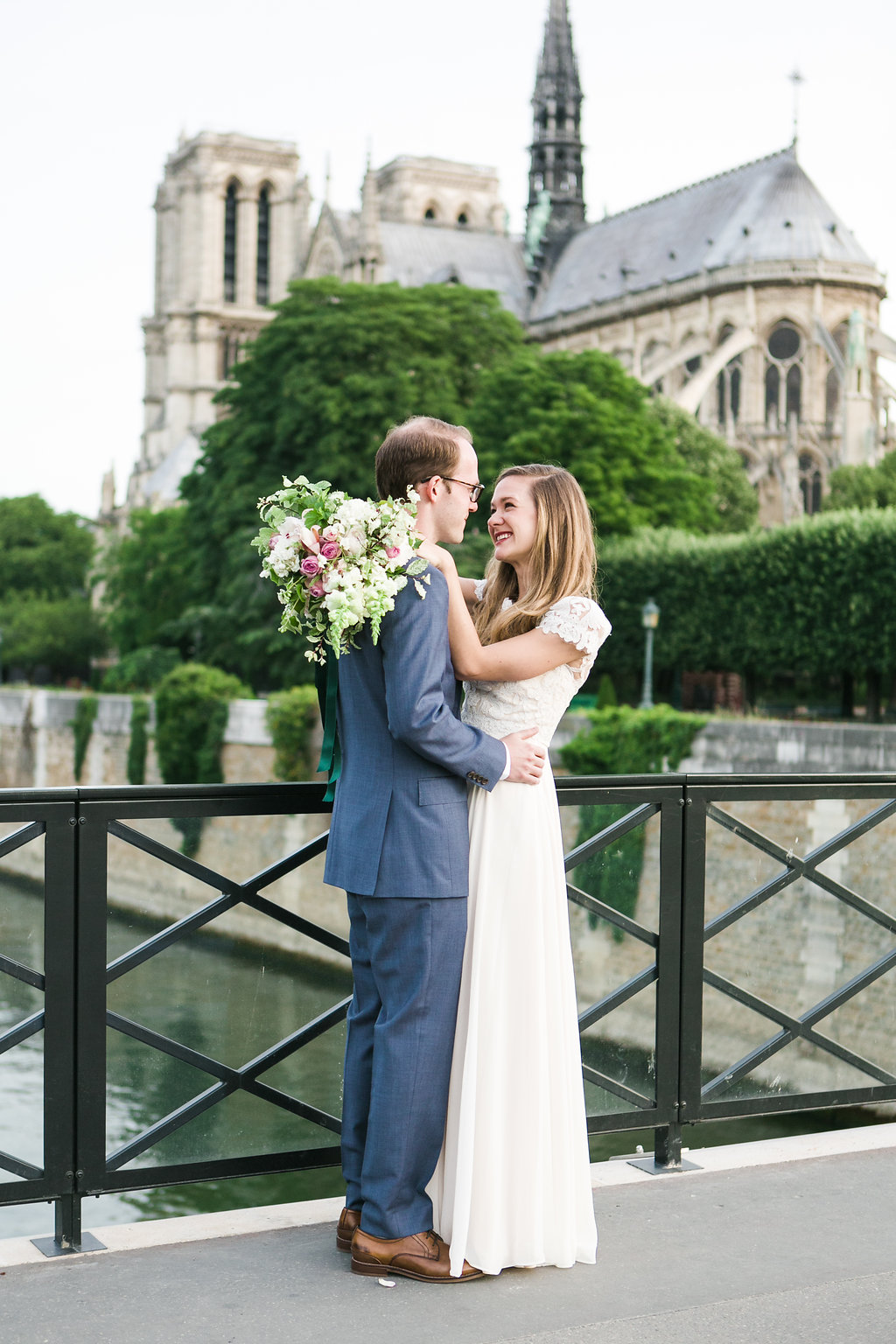 intimate wedding paris