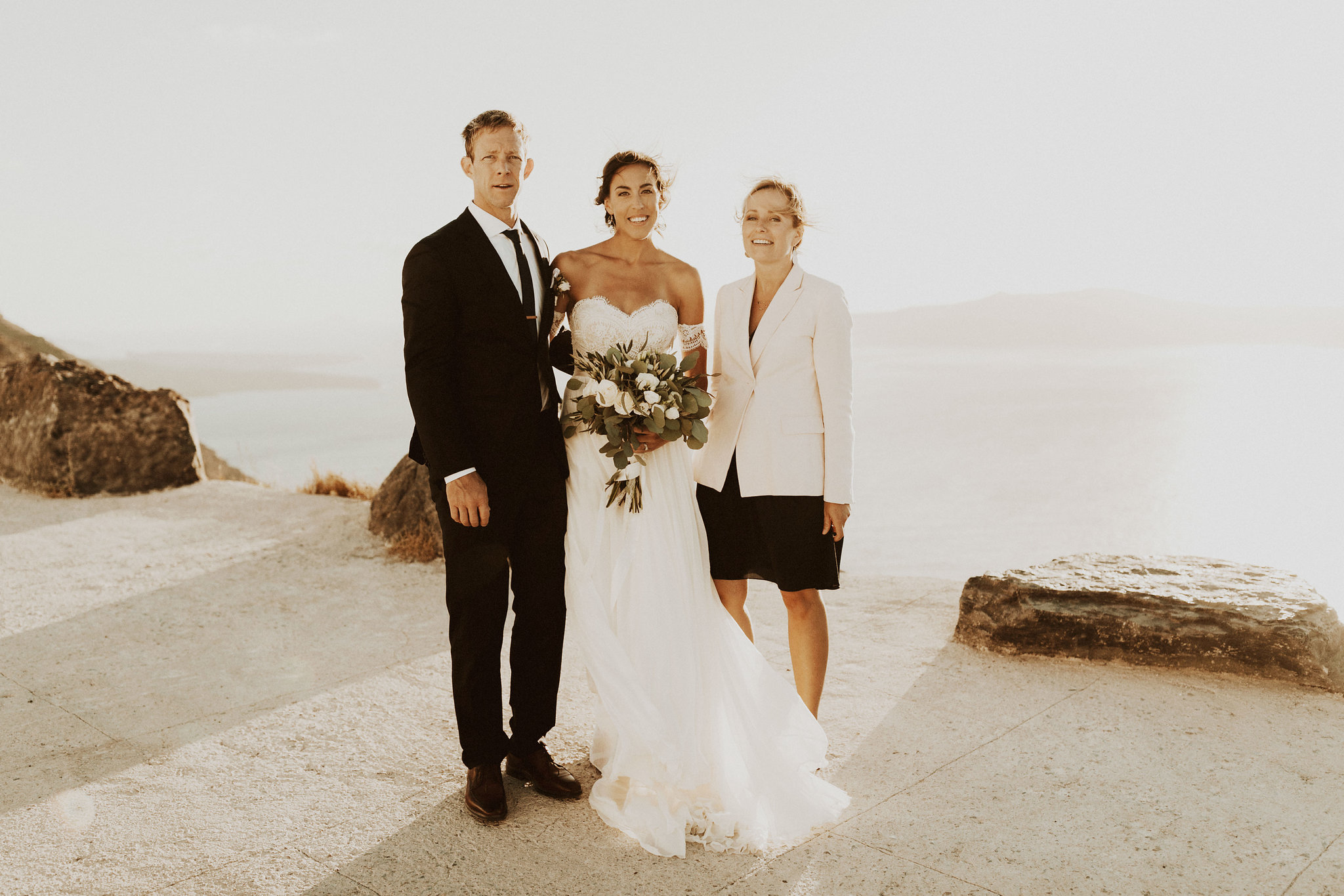Santorini destination wedding celebrant